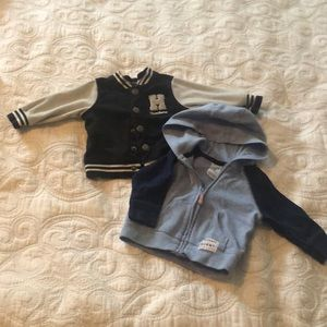 2 versatile sweaters from Carter's 0-3 months